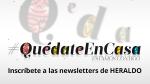 Apúntate a las newsletters de Heraldo
