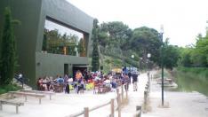 Bar- Terraza de Zaragoza: El Corazón Verde