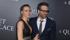 Blake Lively y Ryan Reynolds, pareja en la vida real y 'enemigos' en las redes sociales.