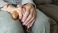 Bastón, ancianos