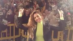 Miriam Rodríguez firma su disco en Zaragoza