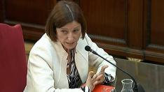 La expresidenta del Parlament, Carme Forcadell.