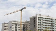 ARAGON CONSTRUCCION DE VIVIENDAS VPO PARQUE VENECIA / 31-08-2017 / FOTO: ARANZAZU NAVARRO [[[FOTOGRAFOS]]]