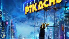 Detective Pikachu, carátula.