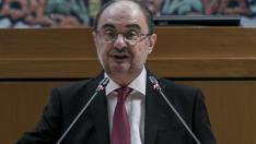 Sesión de investidura de Javier Lambán