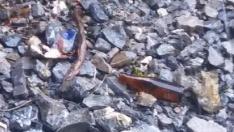 Residuos en el valle de Bujaruelo.