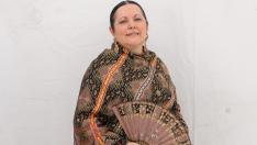 Premio traje mujer de la Ofrenda de Flores 2019.