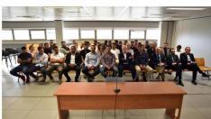 Un momento de la vista oral del juicio por el caso Levante-Real Zaragoza, en los Juzgados de Valencia hace varias semanas.