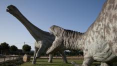 Familia de dinosaurios.