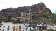 La basílica de la Peña es todo un símbolo de la villa de Graus.