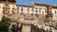 Teruel fue el destino elegido para el primer viaje con mi novio, como no, la ciudad de los amantes. Su escalinata, magnífica, es como nuestra vida, pues refleja la grandeza del amor
