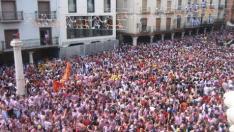 Todo listo para que den comienzo las fiestas del Ángel en Teruel