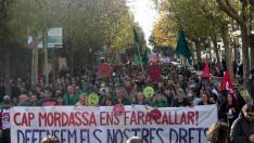Manifestación contra la 'Ley Mordaza' en Barcelona