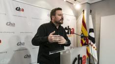 Pepe Soro, candidato de CHA a las Cortes