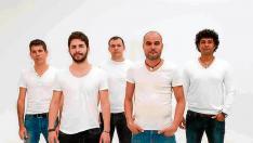 Vocal Tempo actúa hoy en el Anfiteatro de Rubielos de Mora.