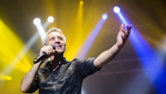 Sergio Dalma en un concierto en el Barclaycard Center de Madrid, dentro de su gira 'Dalma Tour'.