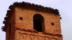 Torre mudéjar de Villanueva de Jalón.
