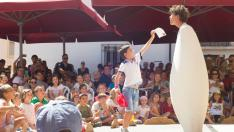 El público es el gran protagonista en el Festival Carabolas, de Bronchales.