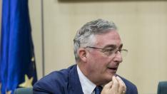El consejero de Desarrollo Rural y Sostenibilidad del Gobierno de Aragón, Joaquín Olona.