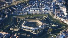 La Ciudadela de Jaca es una fortificación militar.