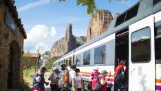 ¡Viajeros al tren... geológico de los Pirineos!