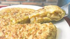 La tortilla de patata, la especialidad de La Zoca.