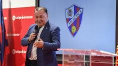 Agustín Lasaosa, durante su intervención en el acto que se ha desarrollado en Madrid.