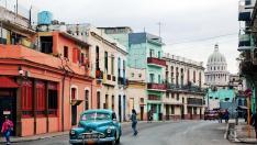 El centro de La Habana.