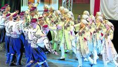 Imagen de una actuación del grupo chipriota Othello, que abrirá el programa de grupos internacionales de Festifalk.