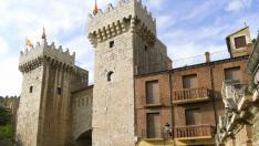 La Casa de la Provincia está muy cerca de la Puerta Baja de Daroca.