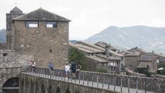 Inmediaciones del Castillo de Aínsa