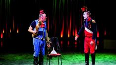 Los payasos, protagonistas del circo.