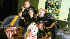 Los actores de 'Comisaría en fiestas', nueva propuesta de Teatro Indigesto.