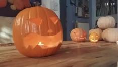 Cómo decorar (y vaciar) una calabaza de Halloween