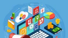 Imagen resumen sobre todos los campos que se trabajan en el marketing digital