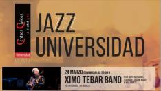 Cartel Jazz ZGZ Universidad