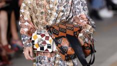 A model walks at the Roberto Cavalli show during Milan Fashion Week Spring 2019 in Milan, Italy September 22, 2018. REUTERS/Stefano Rellandini [[[REUTERS VOCENTO]]] FASHION-MILAN/CAVALLI