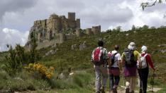La ruta tiene como eje principal el castillo de Loarre.