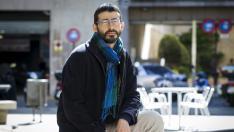 Álvaro Sanz, candidato de IU Aragón.
