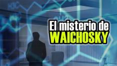 Cartel Misterio de Waichosky, de Clue Hunter.