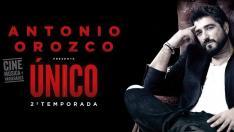 Cartel Antonio Orozco.
