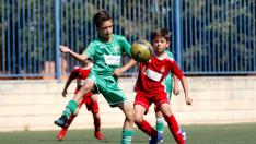 Final. Aragón Benjamín. Amistad vs. Stadium Casablanca.