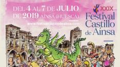 Cartel Festival Castillo de Aínsa