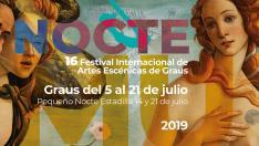 Cartel final Festival Nocte Graus