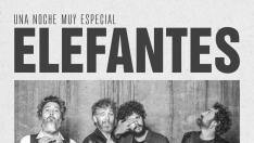 Cartel concierto Elefantes