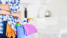 Material limpiar hogar.