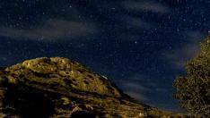 Albergue de Aliaga, que promueve el turismo astronómico.