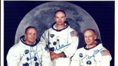 Aldrin, Armstrong y Collins