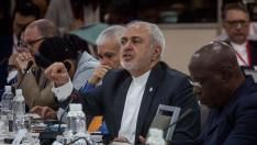 El ministro de Asuntos Exteriores iraní, Mohamad Javad Zarif.