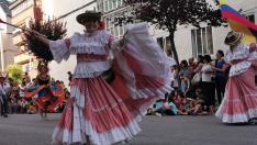 Jaca celebra el Festival Folklórico de los Pirineos 2019